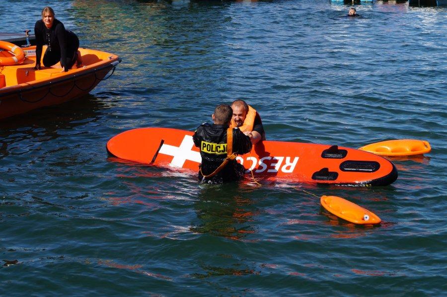 Bieszczady. Szkolenie pod okiem ratowników z Bieszczadzkiego WOPR [FOTO] - Zdjęcie główne