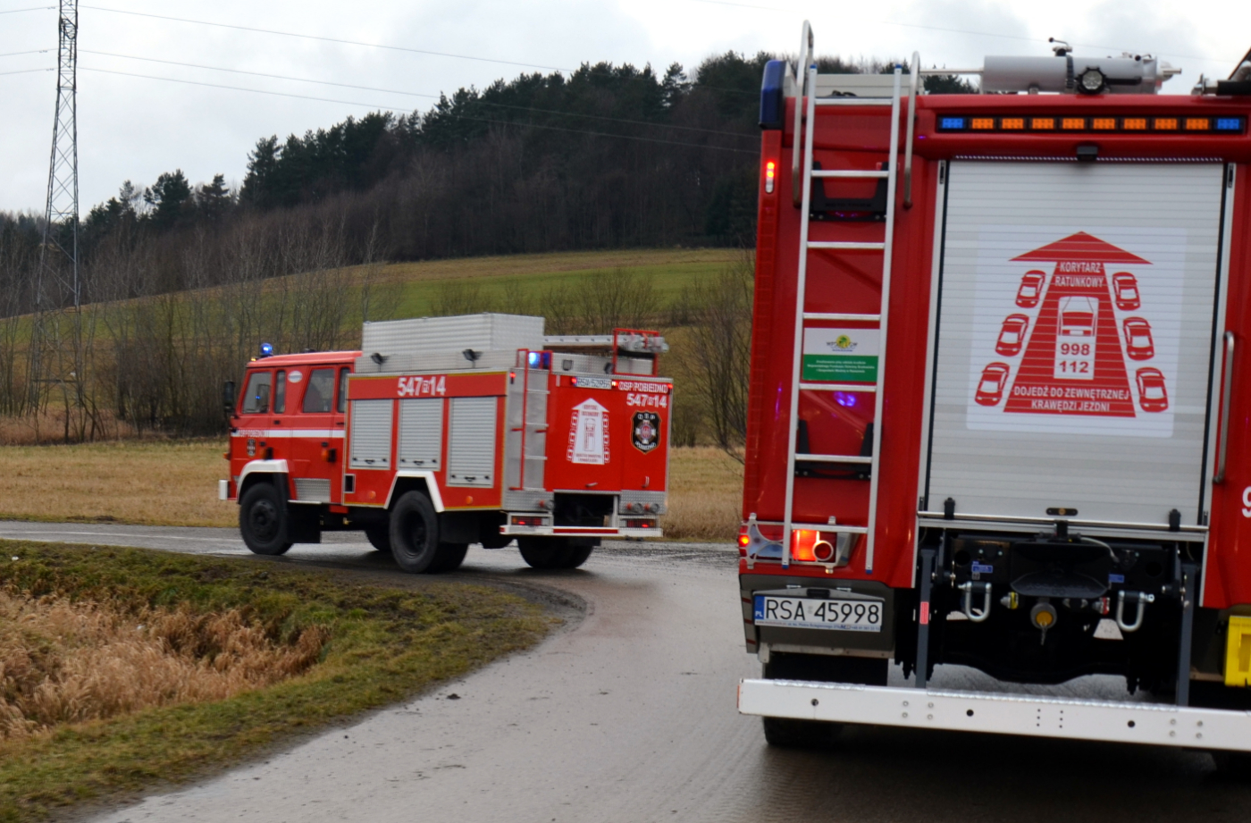 Świąteczny przejazd OSP gminy Bukowsko [FOTO+VIDEO] - Zdjęcie główne