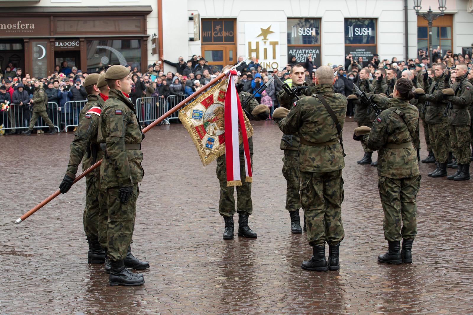 Terytorialsi będą przysięgać już drugi raz w Dębicy  - Zdjęcie główne