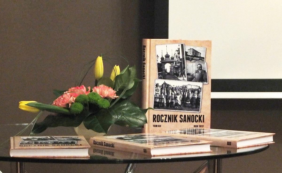 Promocja XII tomu Rocznika Sanockiego - Zdjęcie główne