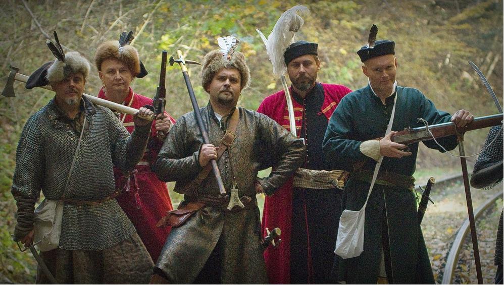 Odbicie więźnia z lochów sanockiego zamku - Zdjęcie główne