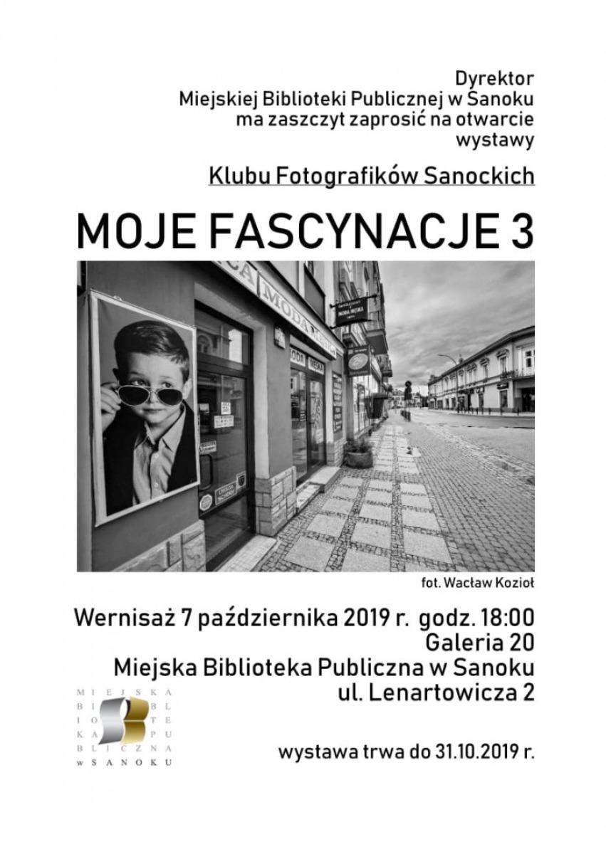 """Otwarcie wystawy """"Moje Fascynacje 3"""" Klubu Fotografików Sanockich - Zdjęcie główne"""