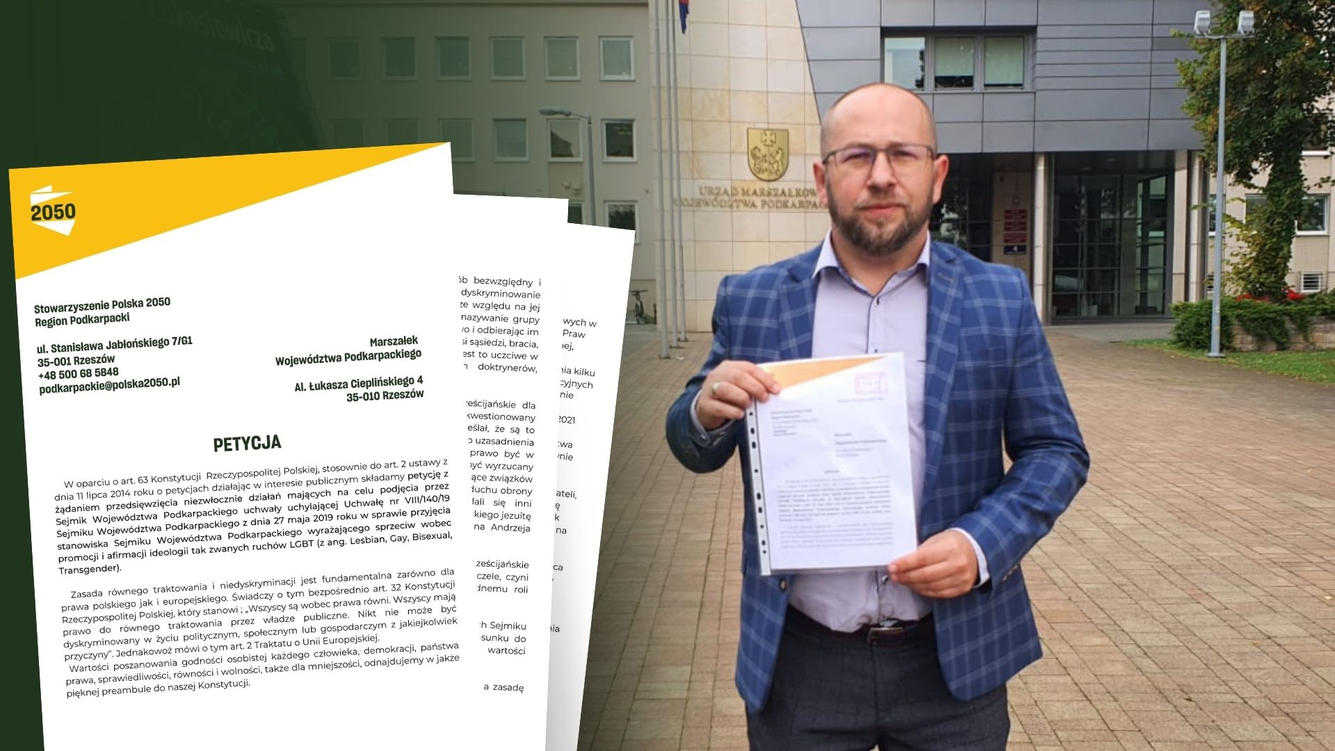 Lokalni aktywiści złożyli petycję przeciwko uchwale Anty LGBT - Zdjęcie główne