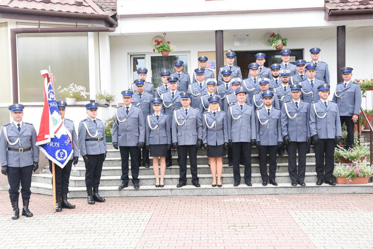 Święto funkcjonariuszy sanockiej Policji [ZDJĘCIA] - Zdjęcie główne