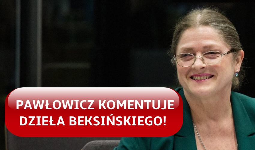 Krystyna Pawłowicz skomentowała obrazy Zdzisława Beksińskiego - Zdjęcie główne
