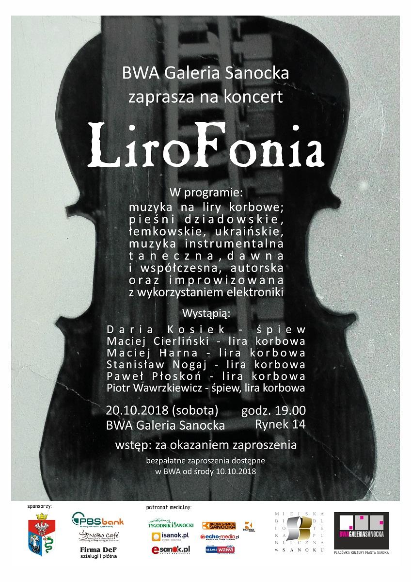 Liro-Fonia - koncertowy projekt w BWA Galeria Sanocka - Zdjęcie główne