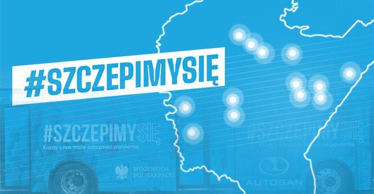 Szczepionkobus odwiedzi kolejne podkarpackie gminy  - Zdjęcie główne
