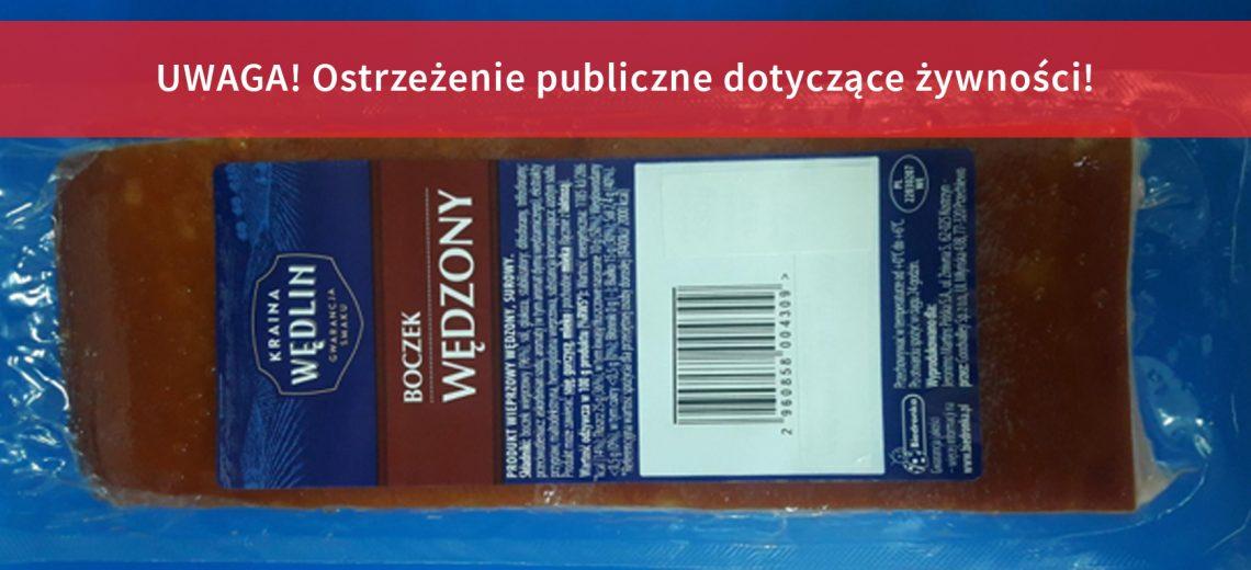 UWAGA! Boczek wędzony z Biedronki zawiera groźną bakterię! - Zdjęcie główne