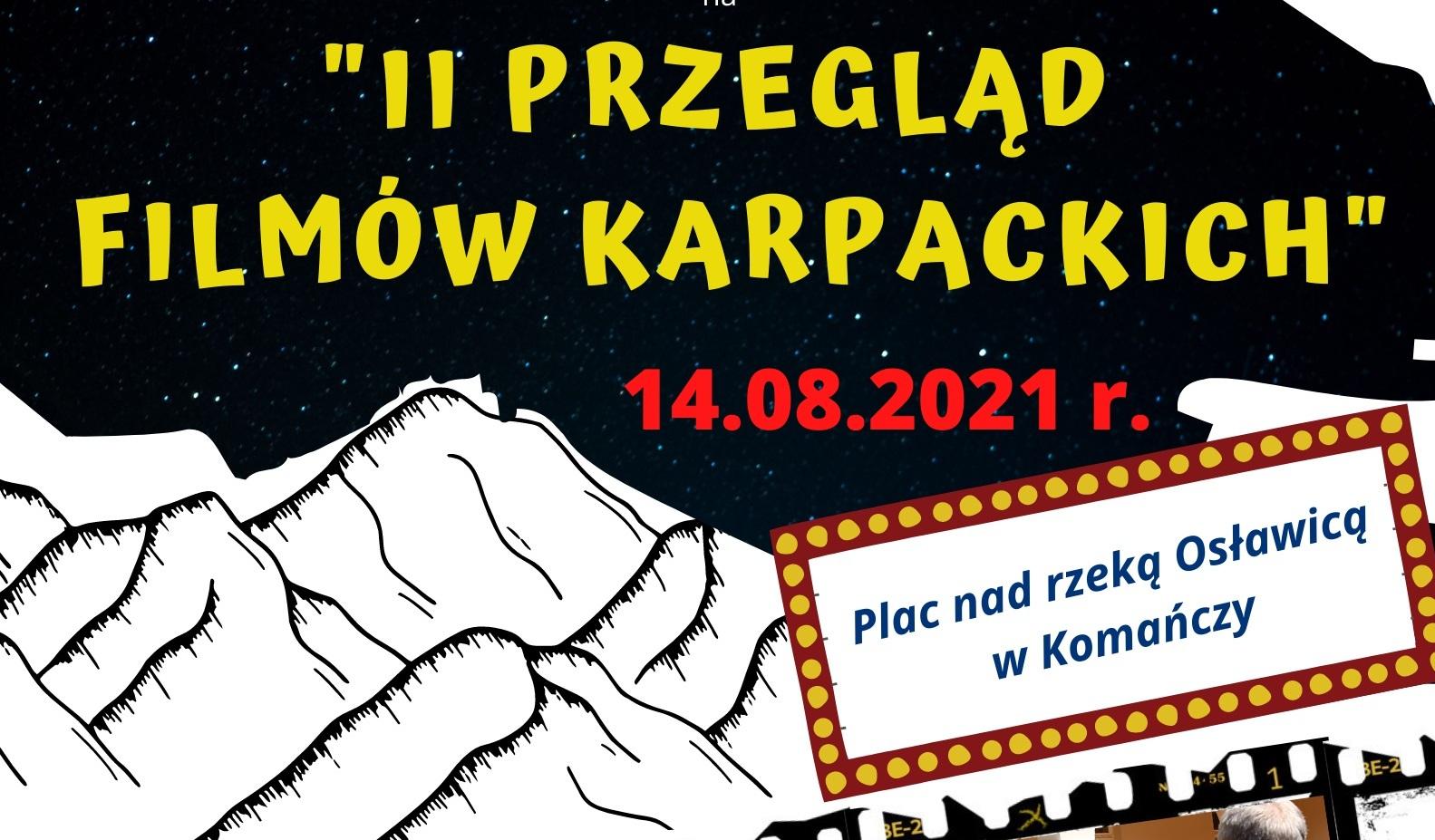 II Przegląd Filmów Karpackich w Komańczy - Zdjęcie główne