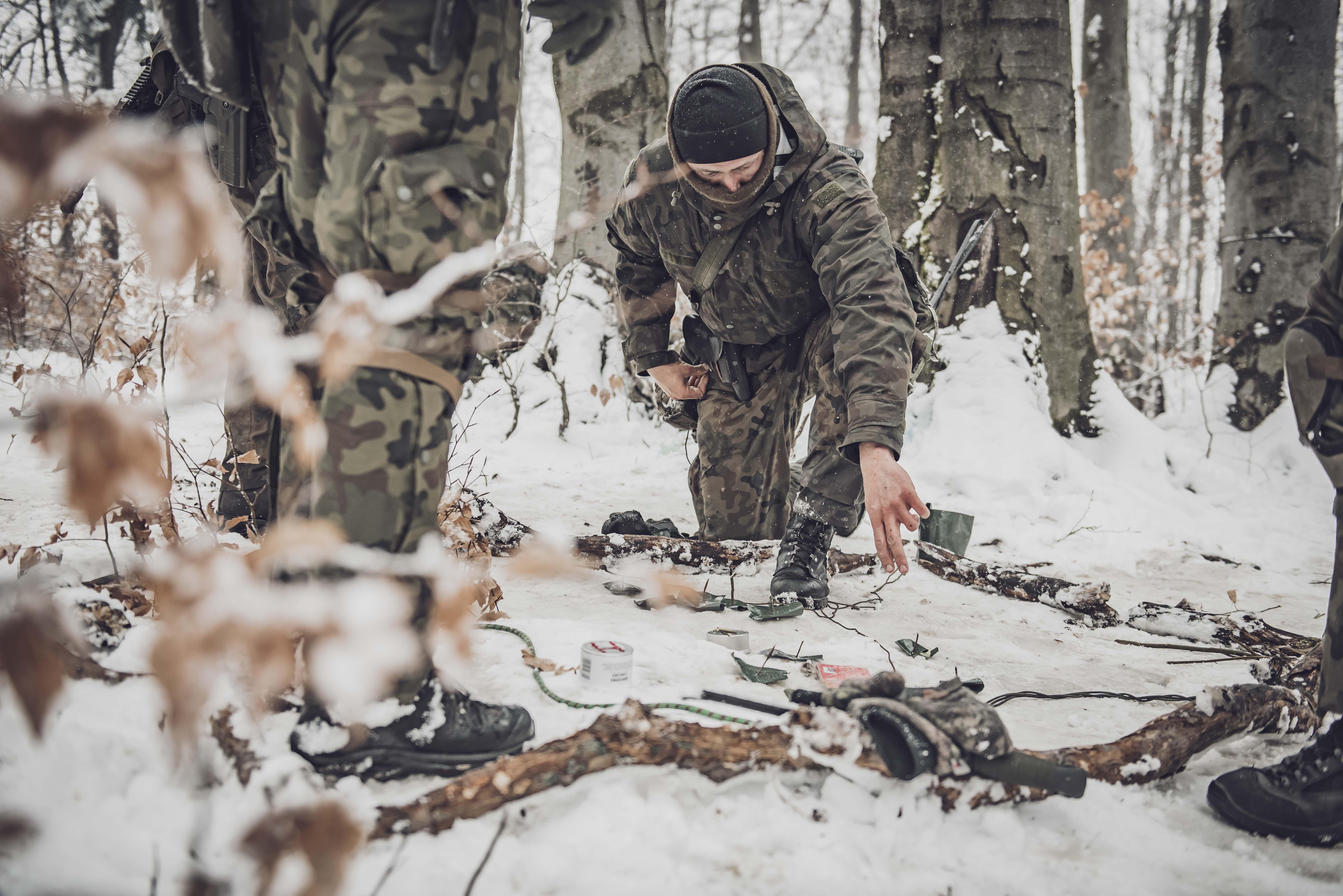 Wymagające szkolenie dowódców plutonu WOT w Bieszczadach [ZDJĘCIA] - Zdjęcie główne