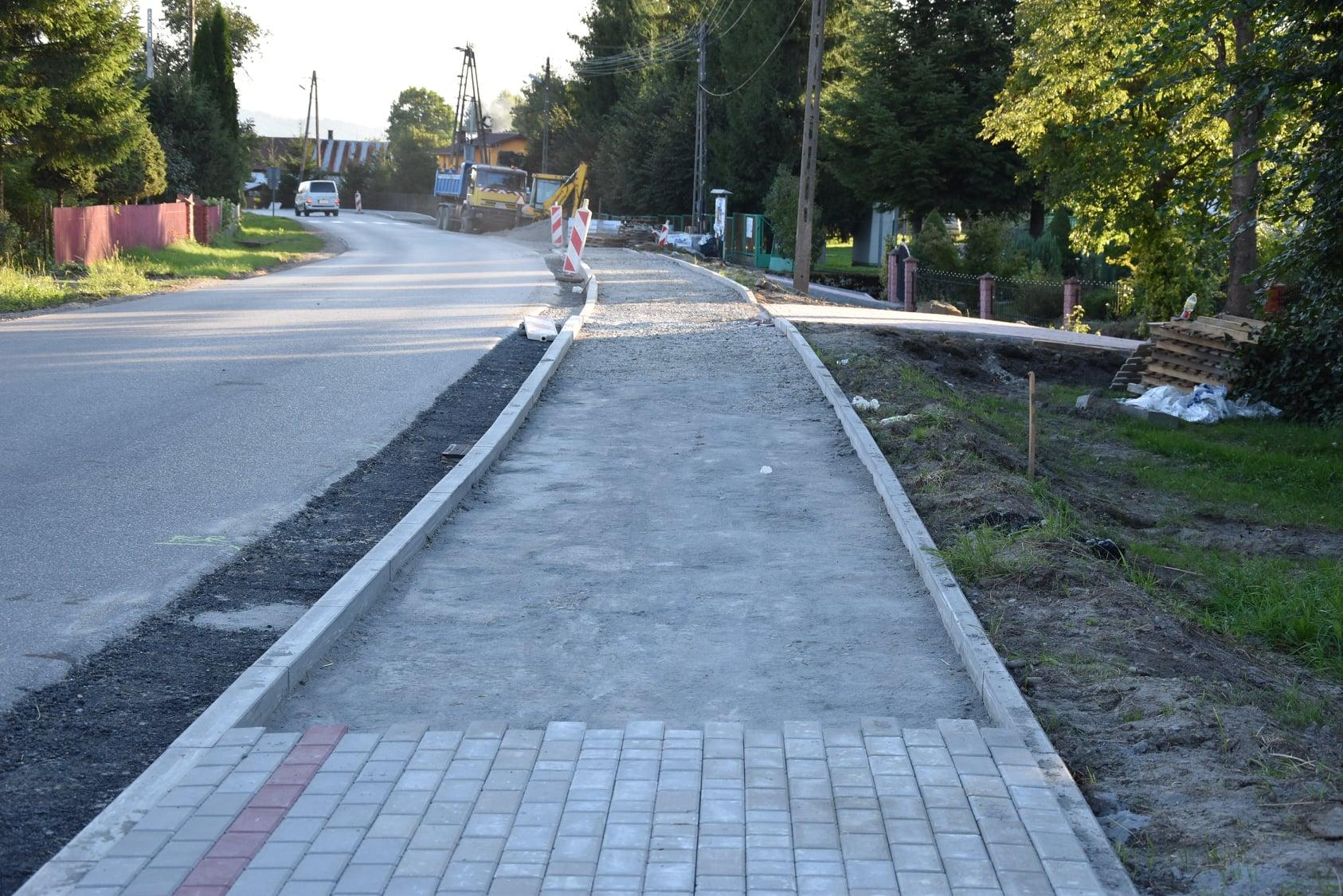 Ruszyła przebudowa drogi Turze Pole – Zarszyn [ZDJĘCIA] - Zdjęcie główne