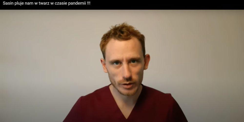 """Pielęgniarz z Rzeszowa ma dosyć - """"Sasin pluje nam w twarz"""" [VIDEO] - Zdjęcie główne"""