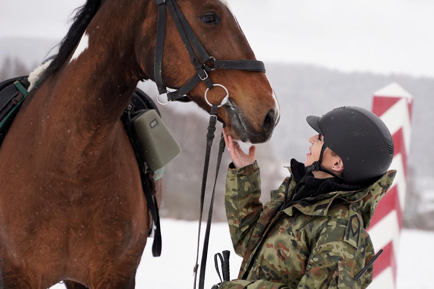 Ogólnopolski Dzień Konia. Bieszczadzki Oddział Straży Granicznej pamięta o dzisiejszym święcie! [ZDJĘCIA+WIDEO] - Zdjęcie główne