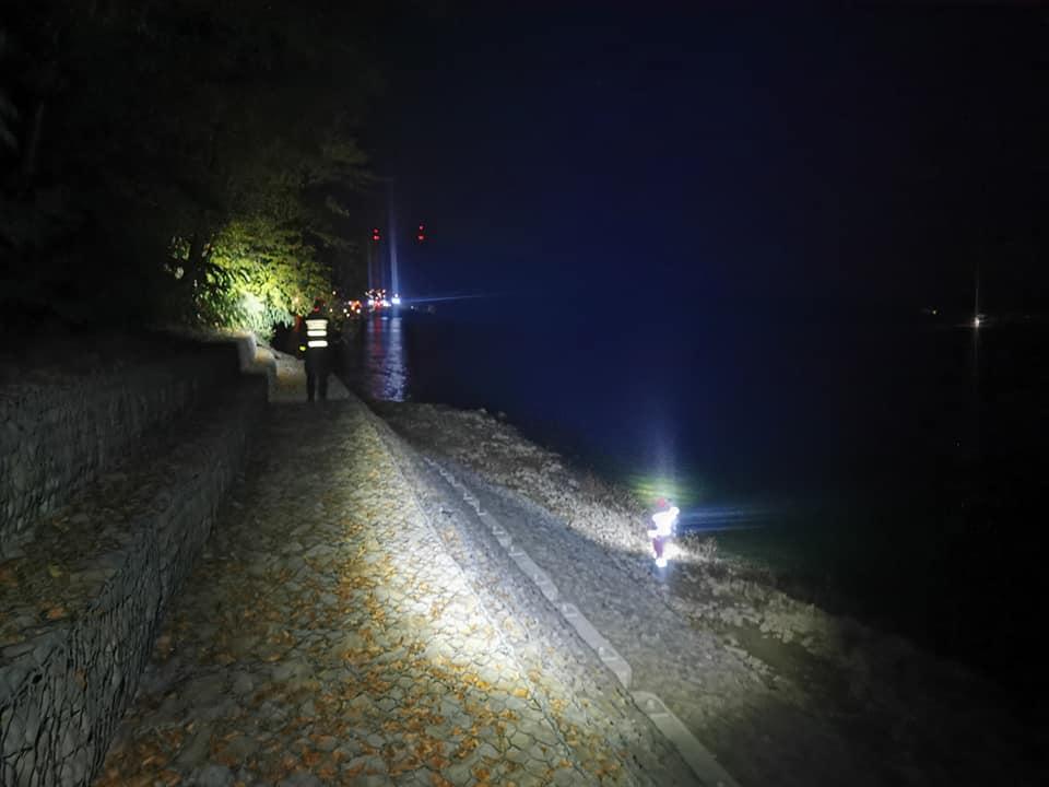 Nocne poszukiwania Mariusza Klimkowskiego nad Soliną nie przyniosły skutku  - Zdjęcie główne