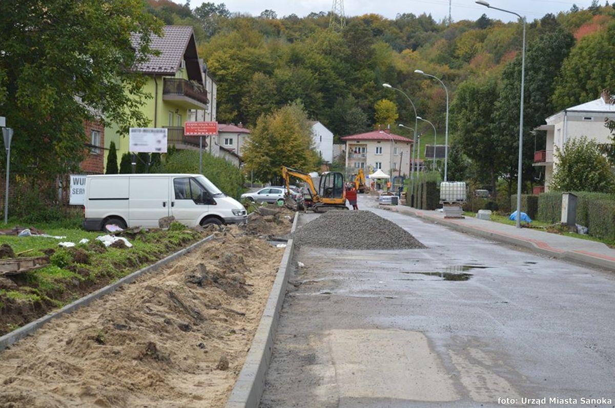 Sanok: miejskie drogi do remontu - Zdjęcie główne