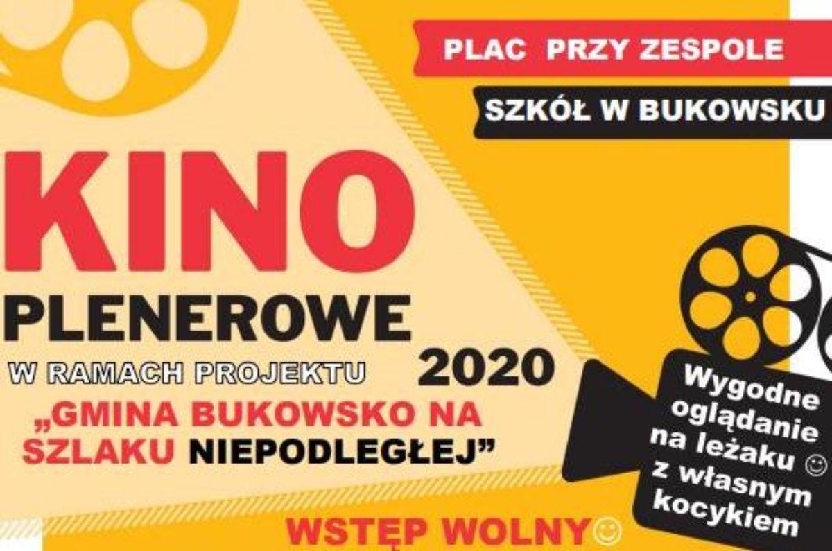 Już za chwilę Kino Plenerowe w Bukowsku! - Zdjęcie główne