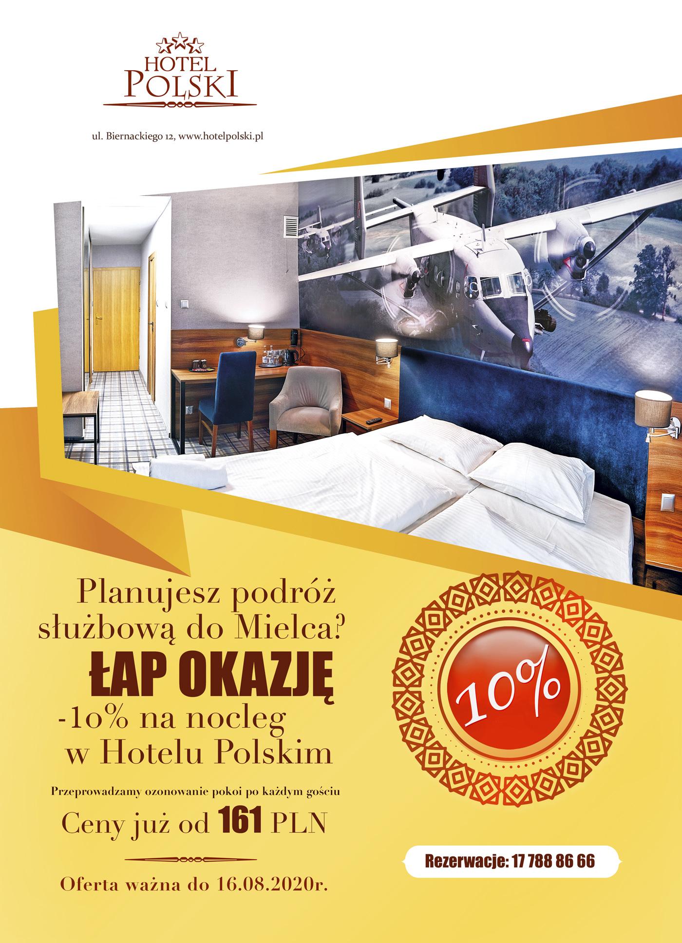 Okazja! 20% na nocleg w Hotelu Polskim - Zdjęcie główne