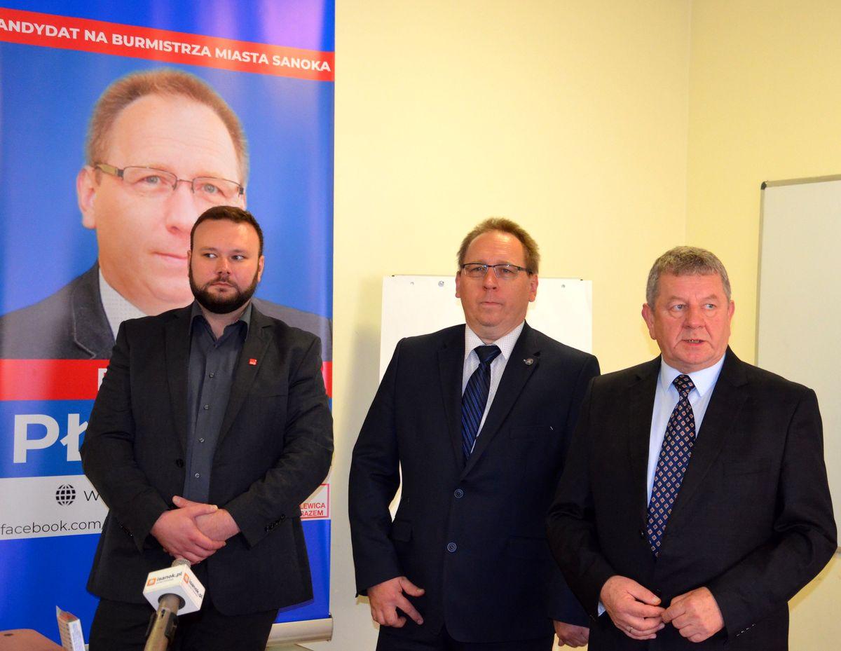 Robert Płaziak kandydat na burmistrza miasta Sanoka przedstawił swój program wyborczy - Zdjęcie główne