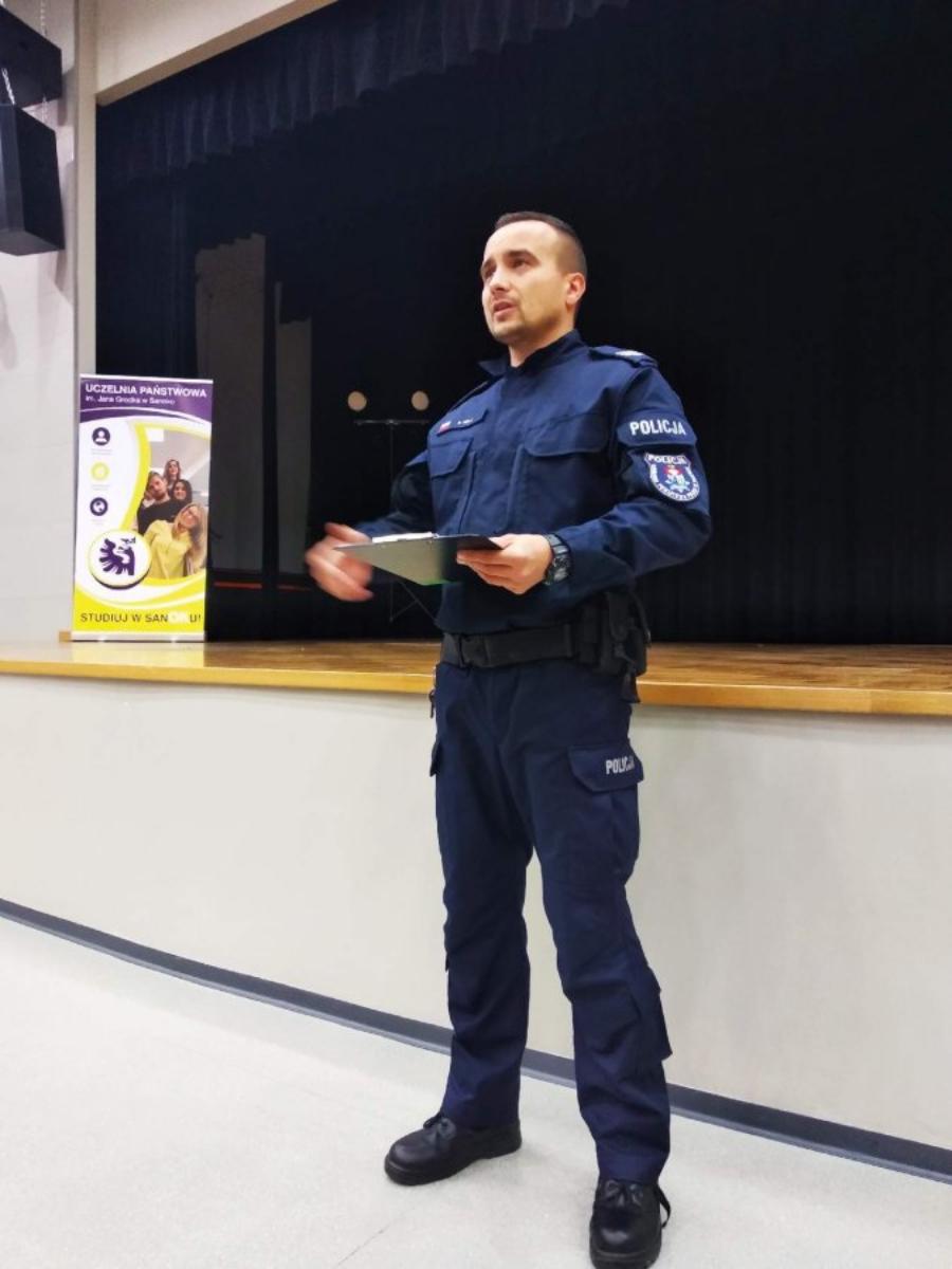 WOŚP W SANOKU: Wolontariusze już po szkoleniu policyjnym - Zdjęcie główne