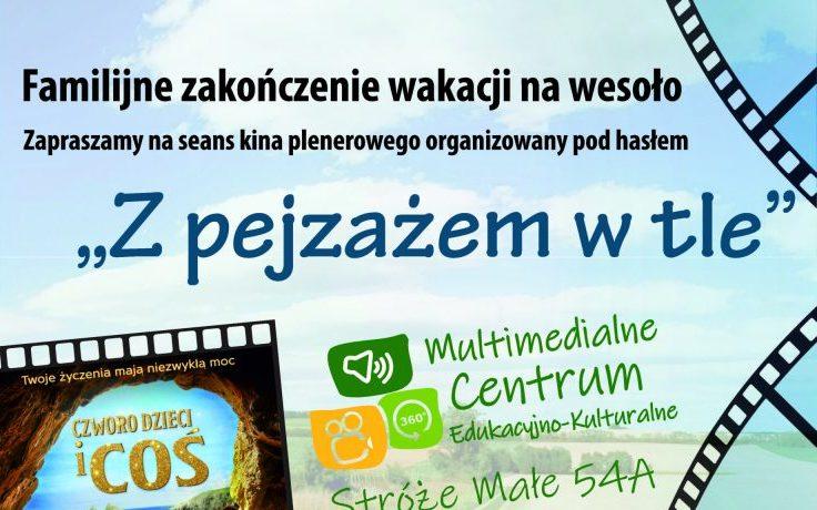 Zapraszamy na zakończenie wakacji z kinem plenerowym! - Zdjęcie główne