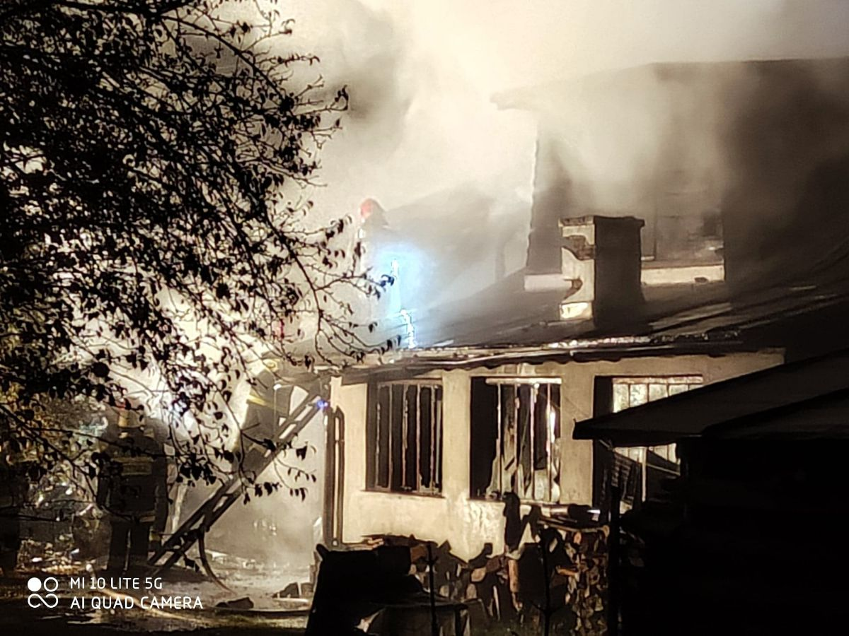 Tragiczny pożar w Mrzygłodzie. Nie żyje 55-letni mężczyzna [FOTO+VIDEO] - Zdjęcie główne