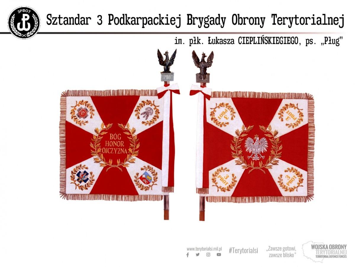 Podkarpacka Brygada Obrony Terytorialnej otrzyma sztandar z rąk Prezydenta RP - Zdjęcie główne