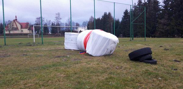 CZERTEŻ. Wtargnęli na stadion i go zdewastowali - Zdjęcie główne