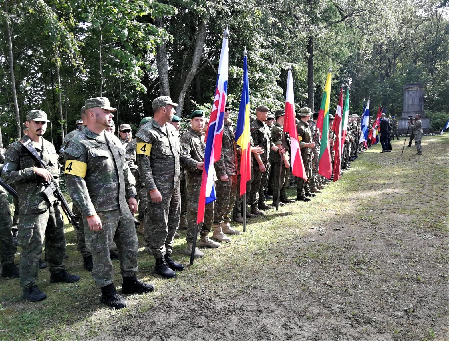 """Terytorialsi z Podkarpacia walczą w """"Admiral Pitka Recon Challenge 2021 w Estonii  - Zdjęcie główne"""