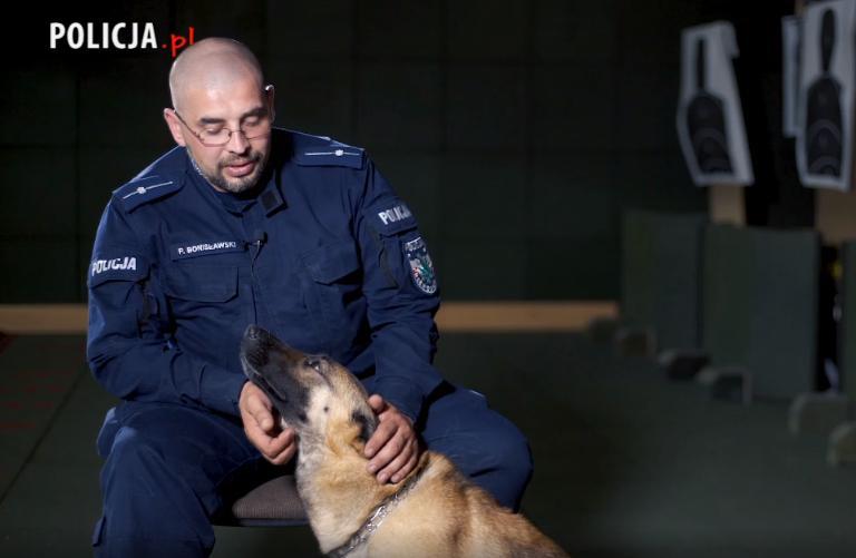 Zobacz jak wygląda szkolenie psa policyjnego [VIDEO] - Zdjęcie główne