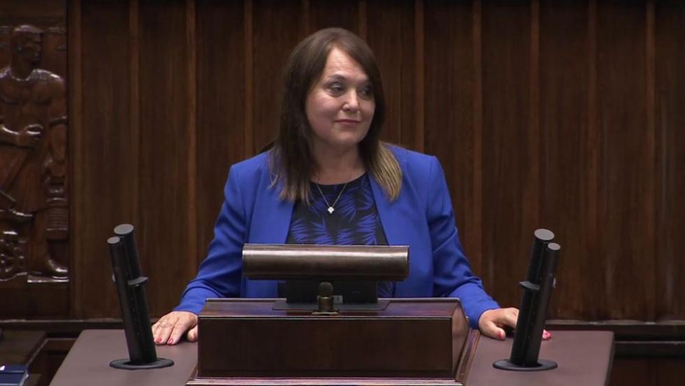 """Posłanka PiS """"donosi"""" do przełożonych że Radny był na strajku! - Zdjęcie główne"""