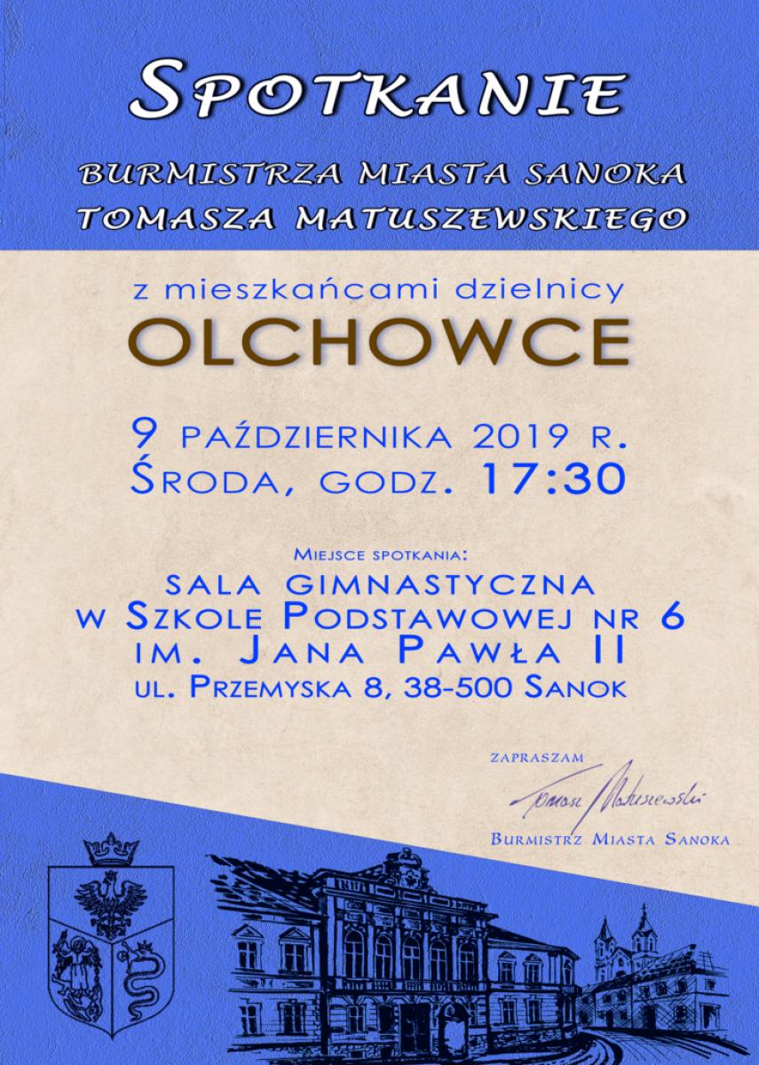 Burmistrz spotka się z mieszkańcami Olchowiec - Zdjęcie główne