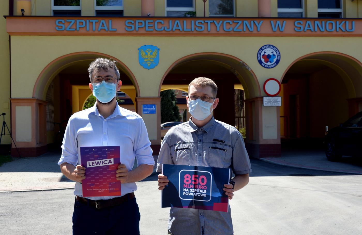 Lewica zabezpieczyła 850 mln euro na rzecz szpitali powiatowych [WIDEO] - Zdjęcie główne
