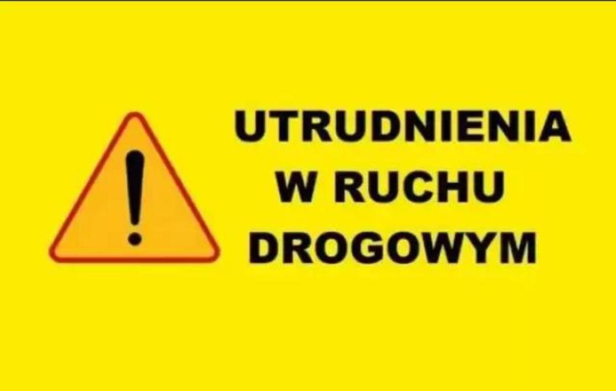 UWAGA. Zamknięcie drogi Czerteż - Strachocina! - Zdjęcie główne