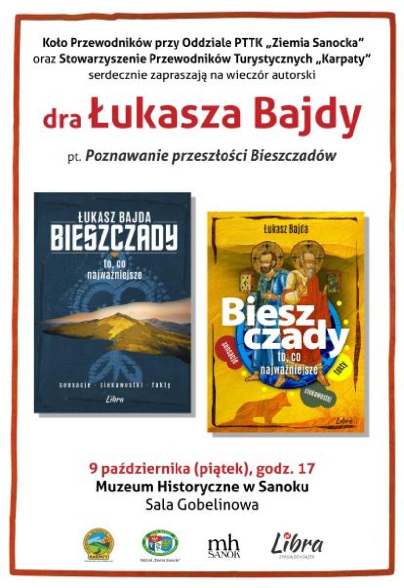 Serdecznie zapraszamy na spotkanie autorskie z dr Łukaszem Bajdą  - Zdjęcie główne