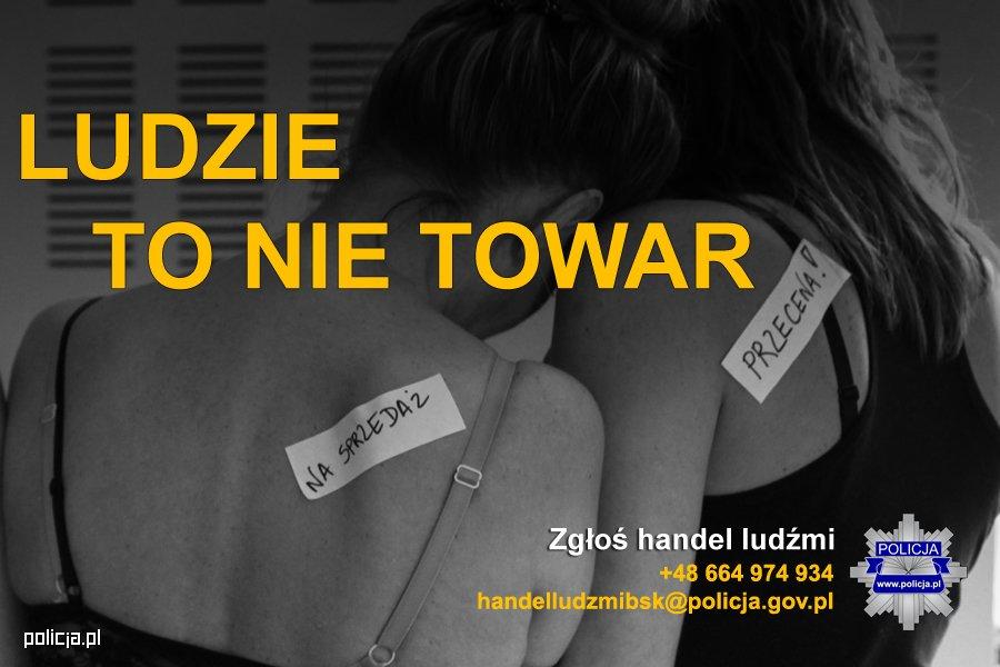 Europejski Dzień Przeciwko Handlowi Ludźmi i Niewolnictwu  - Zdjęcie główne