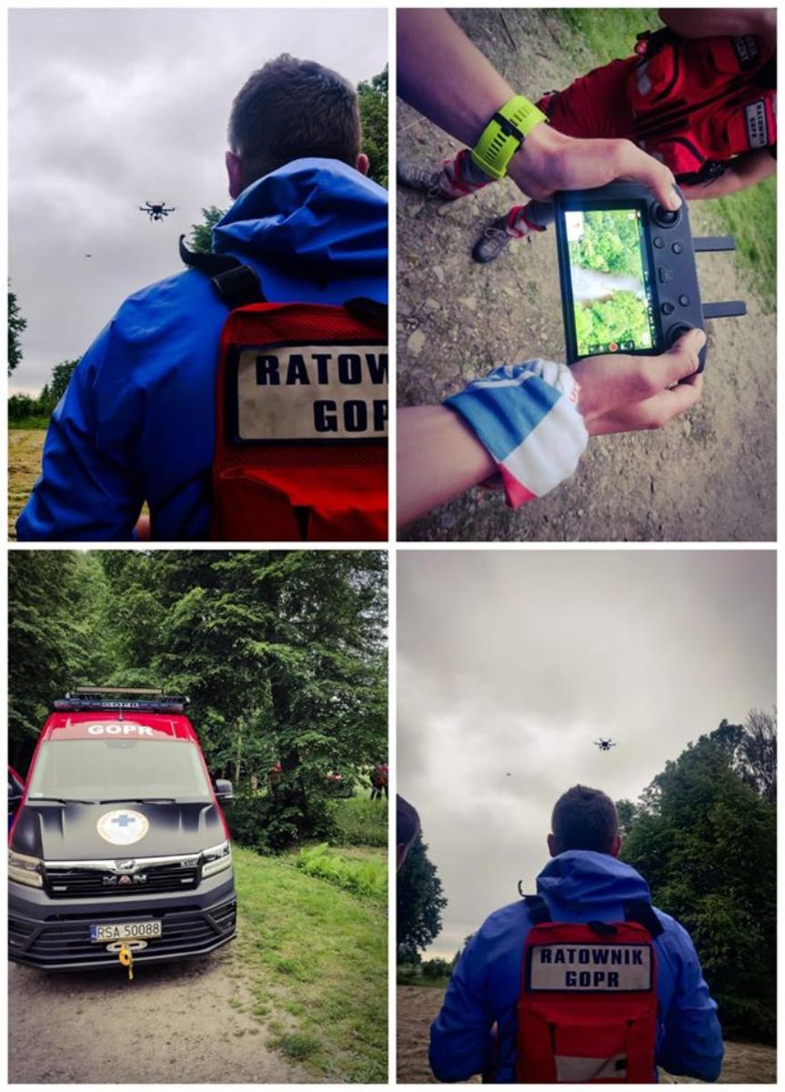 BIESZCZADY: Akcja poszukiwawcza w Zręcinie - Zdjęcie główne