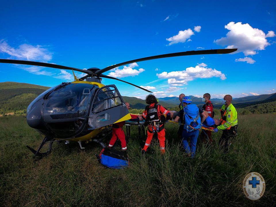 Bieszczady: Pracowity czwartek ratowników GOPR [FOTO] - Zdjęcie główne