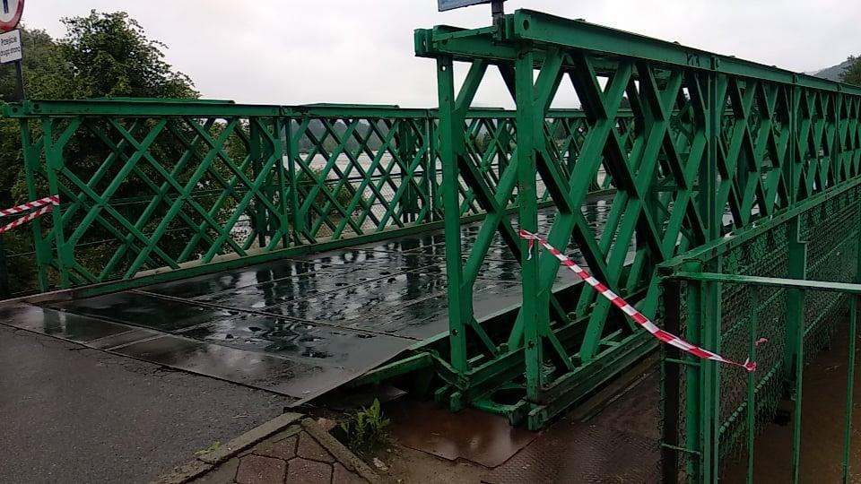 Sanok. Most na Białą Górę został zamknięty! - Zdjęcie główne