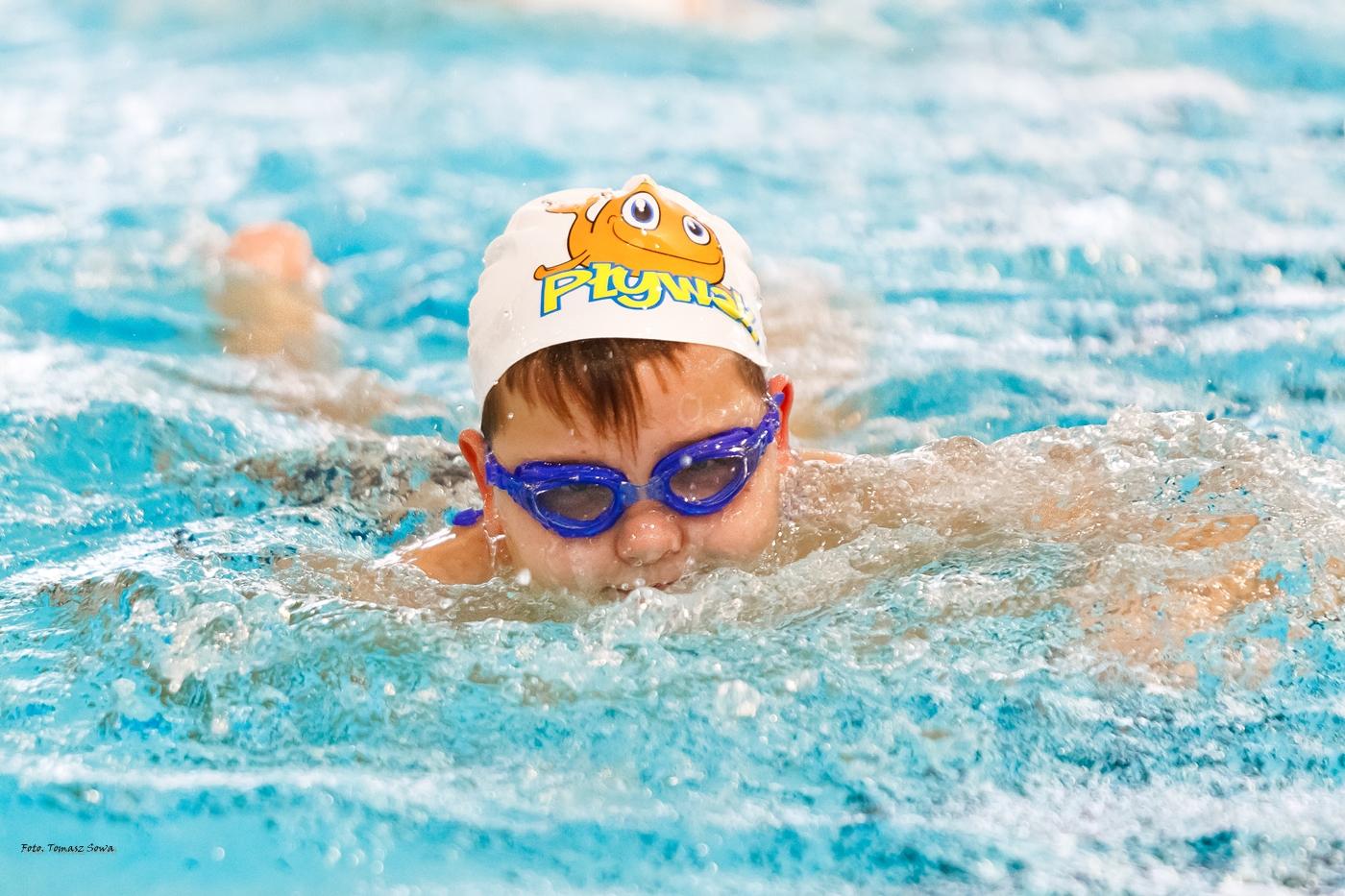 Zawody pływackie CRiS MOSiR Sanok  - Zdjęcie główne