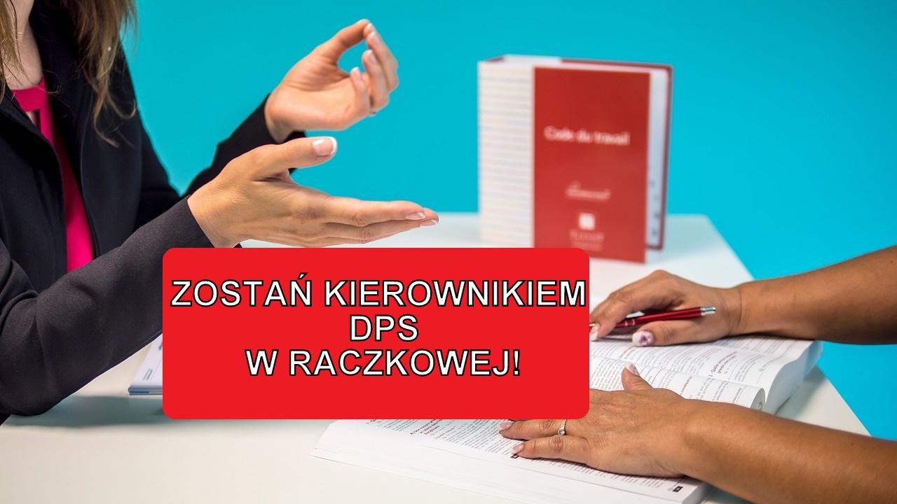 Nabór na stanowisko kierownika nowego DPS w Raczkowej - Zdjęcie główne