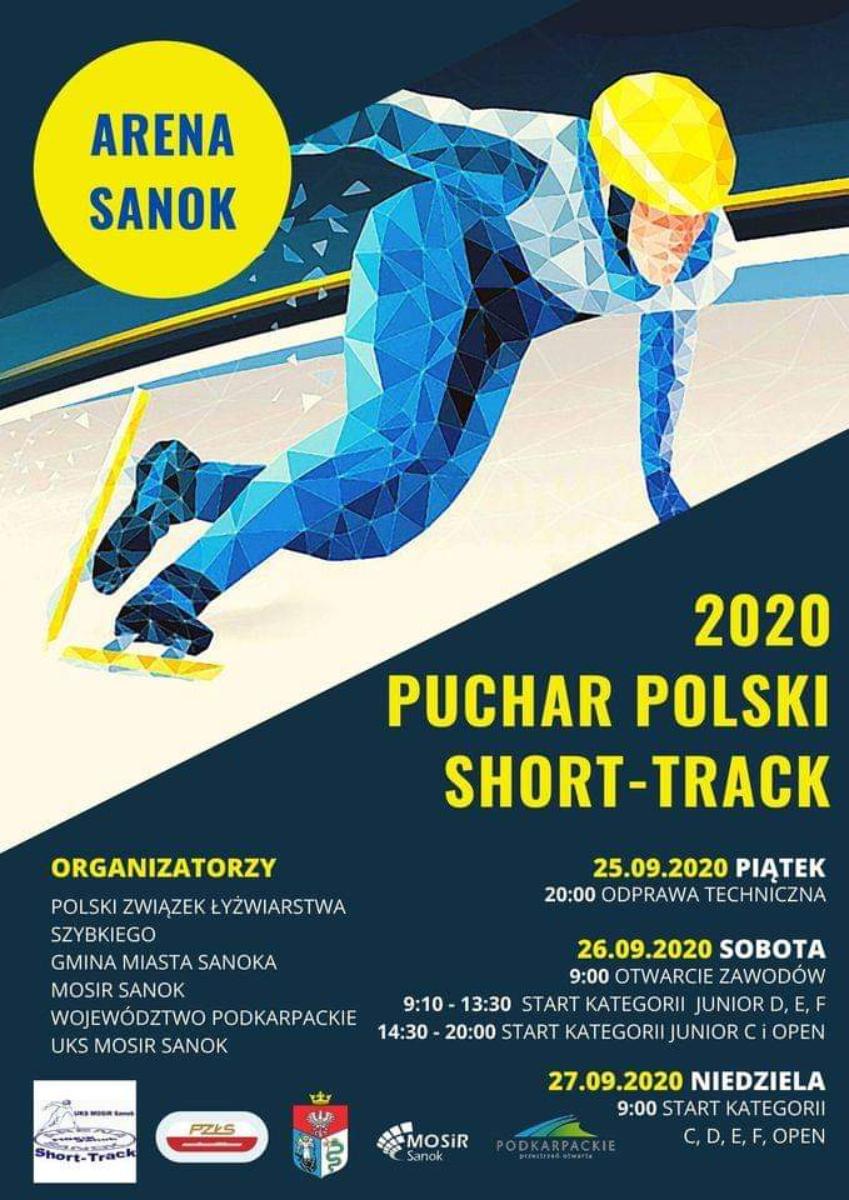 Najlepsi short-trackowcy w kraju w najbliższy weekend w Sanoku - Zdjęcie główne