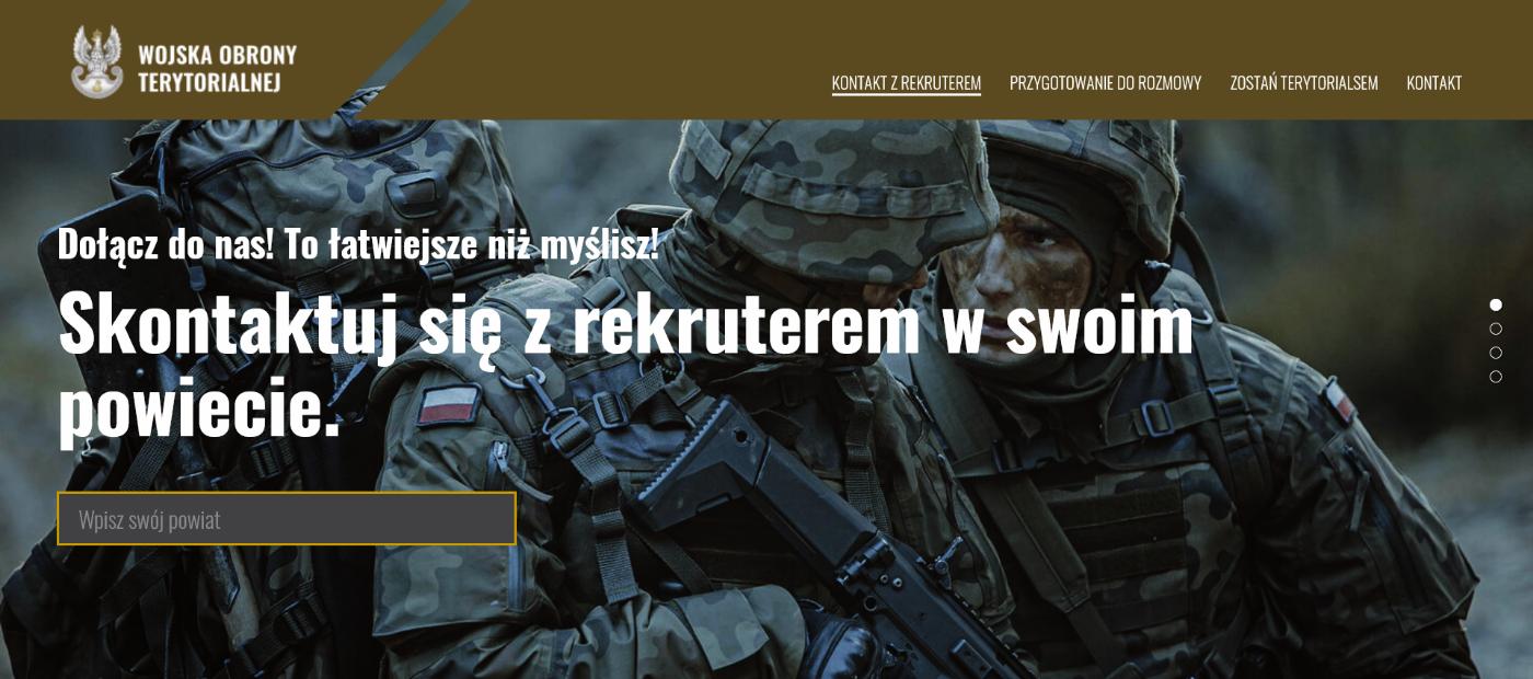 Kontakt z rekruterem WOT z Podkarpacia prostszy niż myślisz - Zdjęcie główne