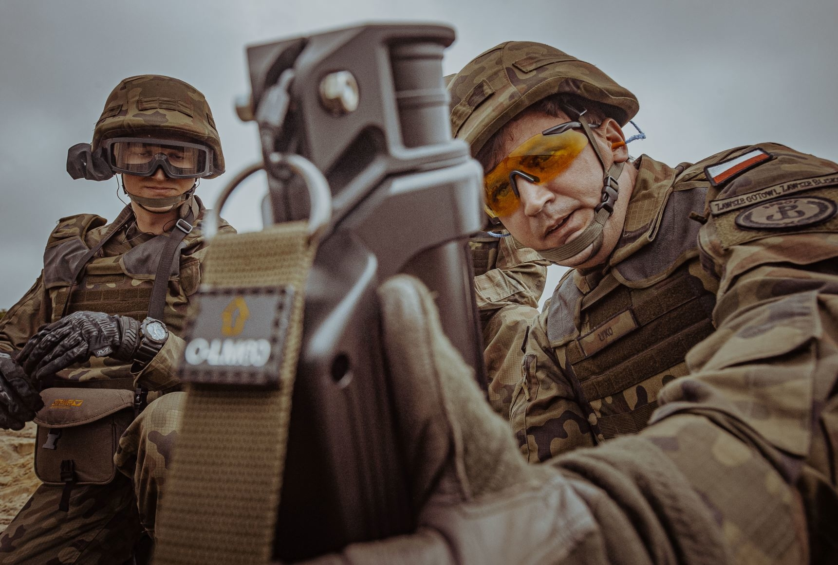 Terytorialsi z Podkarpacia pierwsi strzelali z moździerza LMP-2017 - Zdjęcie główne