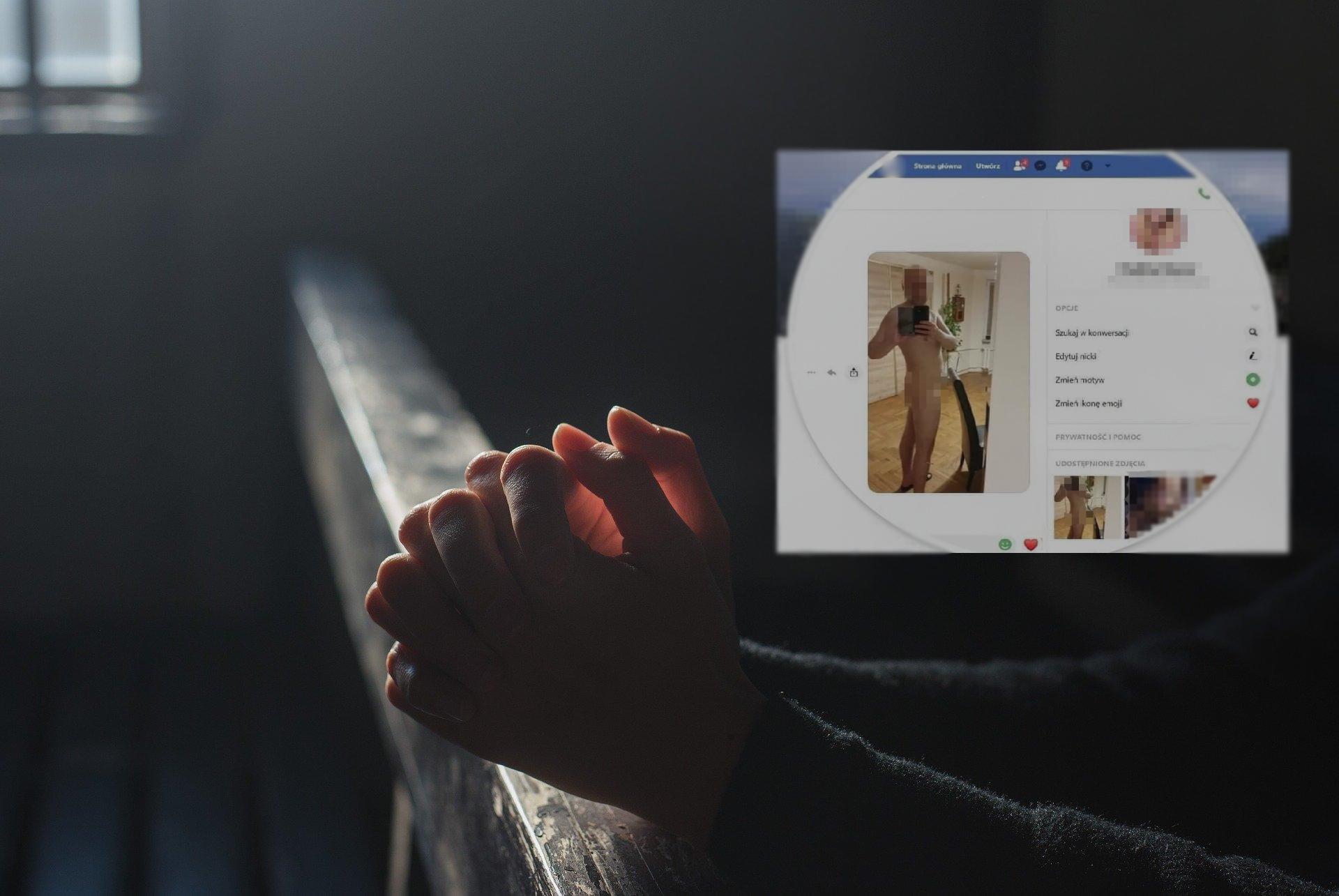 Nagie zdjęcia księdza w Internecie. Kuria przenosi go z parafii w Sanoku do hospicjum w Jarosławiu - Zdjęcie główne