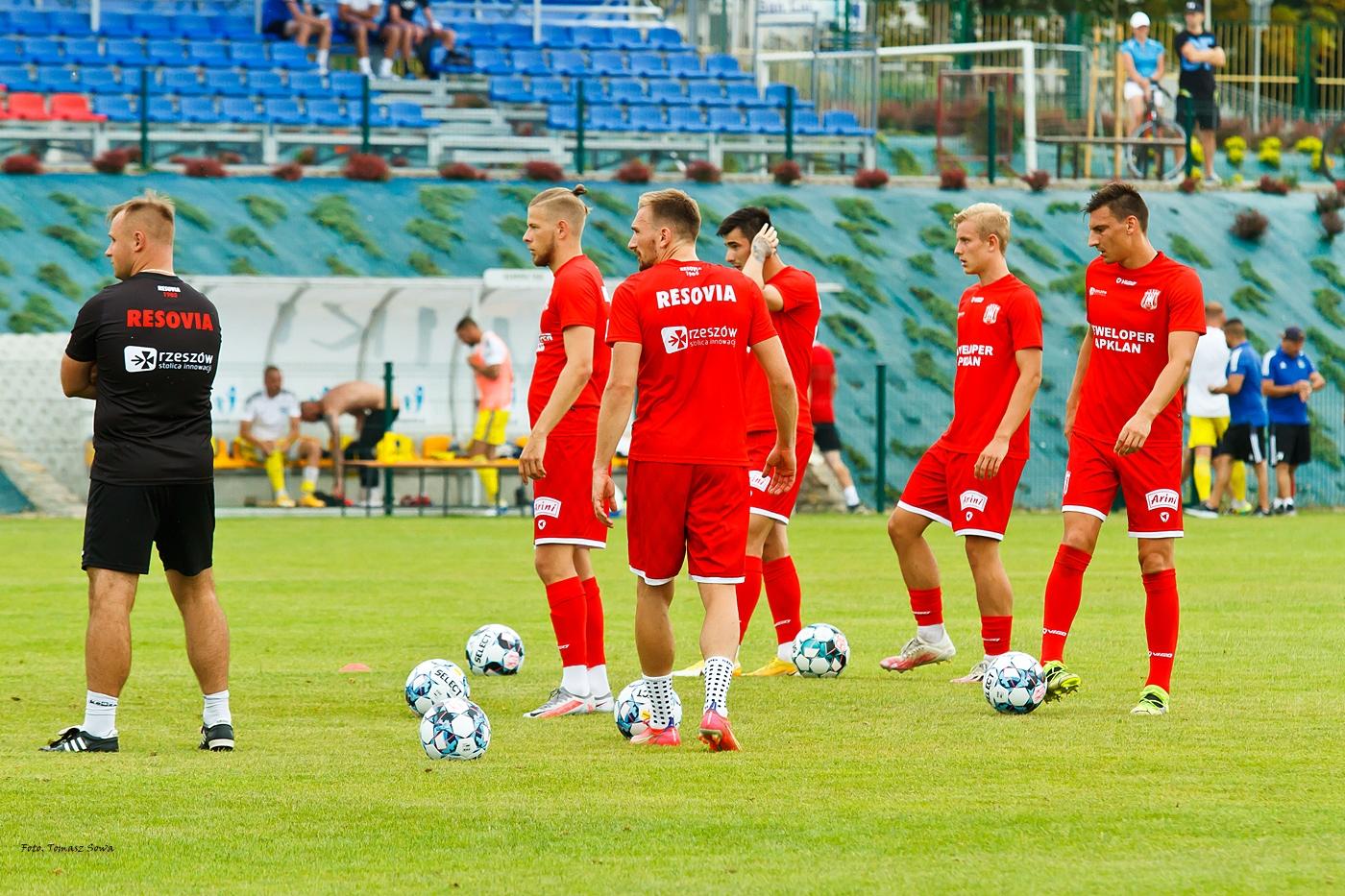 Mecz Resovia – Koszyce 2021.07.10 - Zdjęcie główne