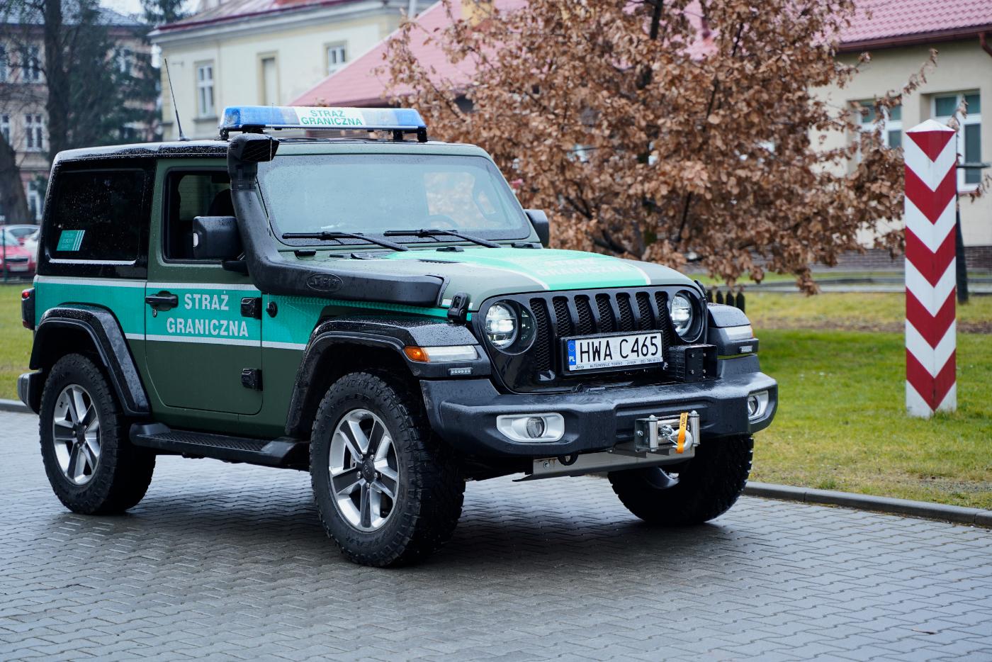 Nowe samochody i motory dla Straży Granicznej na Podkarpaciu [FOTO+VIDEO] - Zdjęcie główne