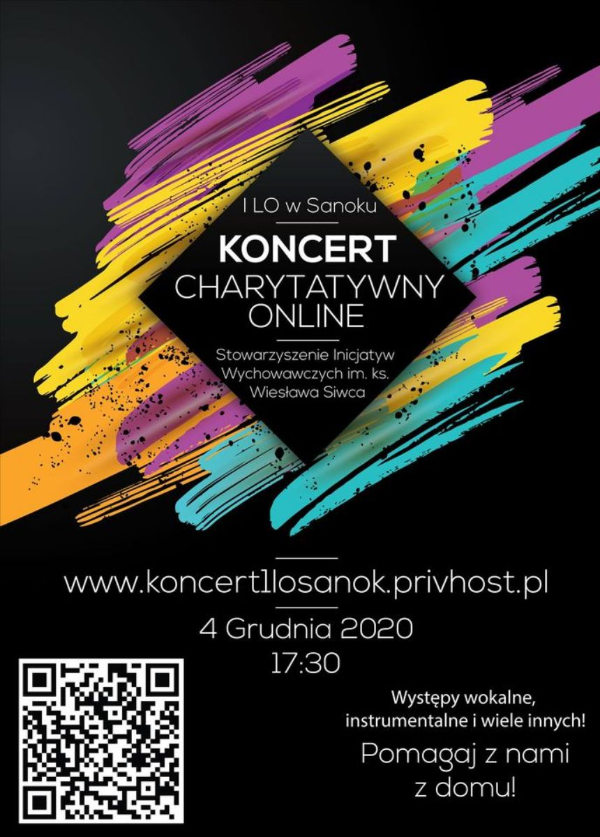 Koncert Charytatywny I Liceum Ogólnokształcącego w Sanoku - Zdjęcie główne