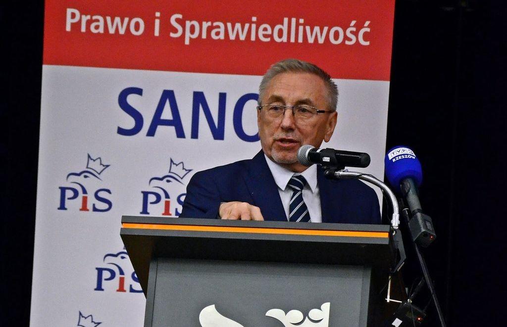 Konwencja PiS w Sanoku i koncertowe poparcie dla Tadeusza Pióro w walce o reelekcję na fotel burmistrza  - Zdjęcie główne