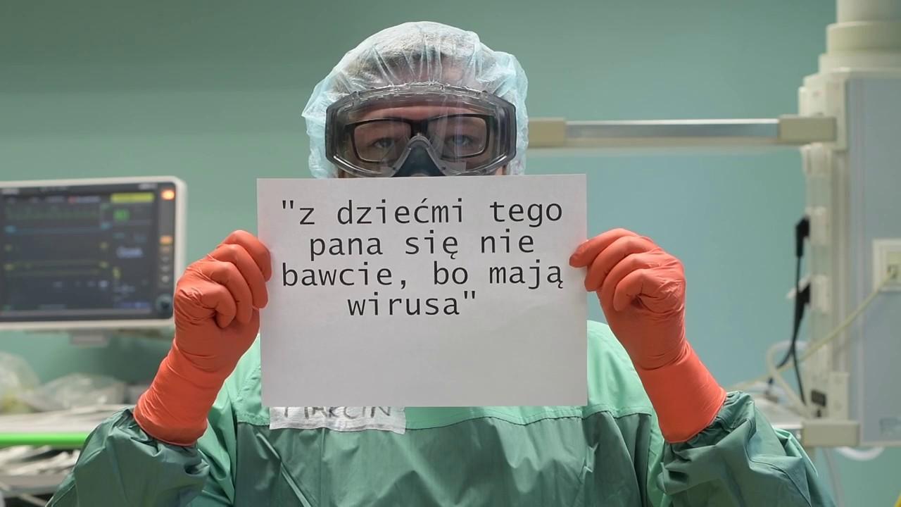 """Akcja """"Szanuj medyka"""" przeciw hejtowi ze strony pacjentów - Zdjęcie główne"""