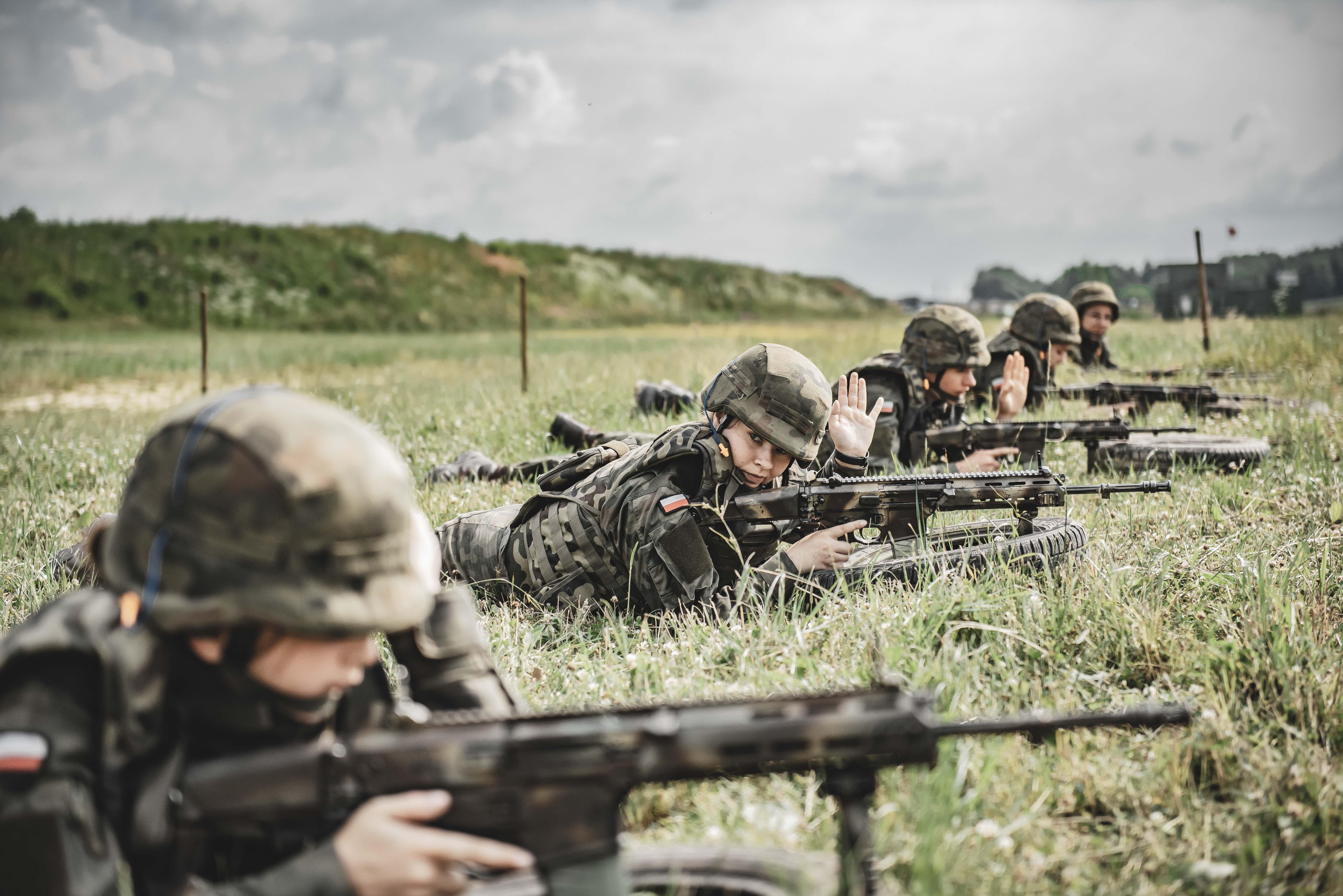 Trwa szkolenie przygotowawcze klas mundurowych w 3 Podkarpackiej Brygadzie Obrony Terytorialnej - Zdjęcie główne